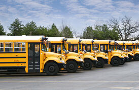 Being able to track a fleet of buses remotely greatly enhances safety.