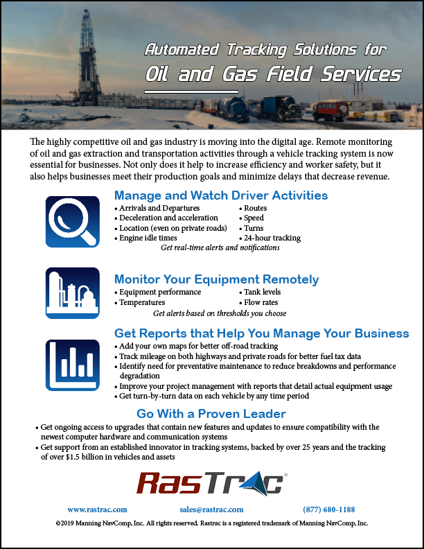 Oil and Gas Features