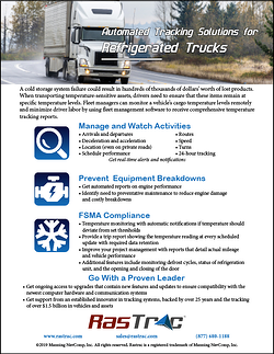 Refrigerated Trucks Features