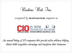 The CIO 25 M2M list is a prestigious award for the IT industry.