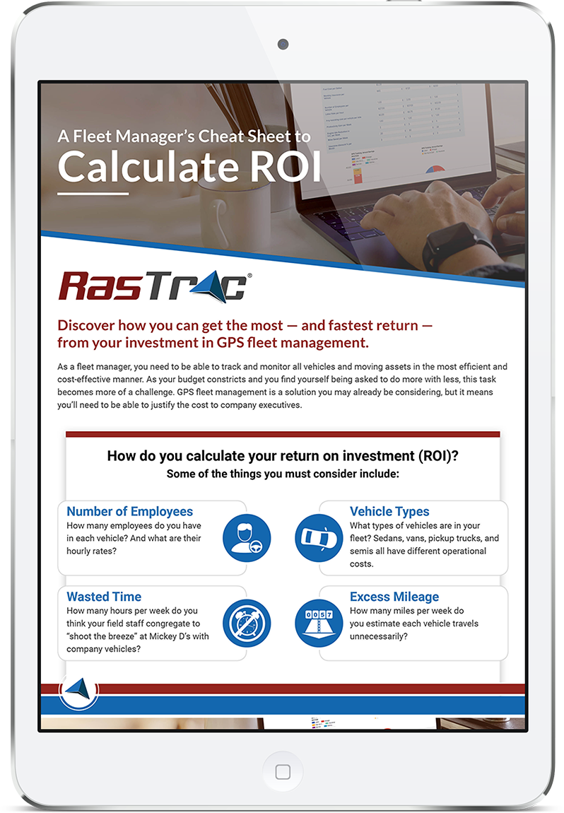 RAS_030_COV - A Fleet Manager's Cheat Sheet to Calculate ROI