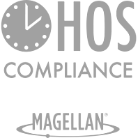 HOS compliance is a major issue for many vehicle fleets.