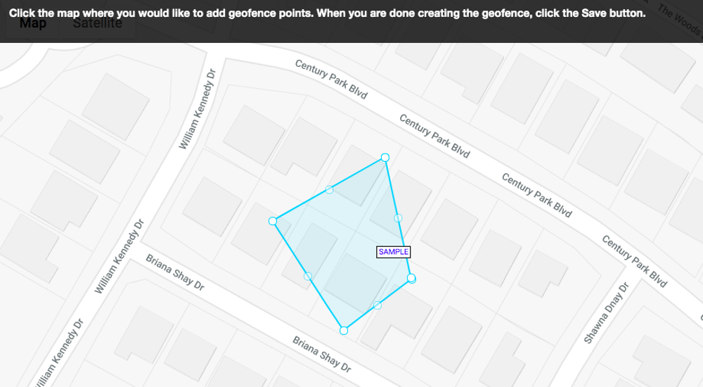 geofence map