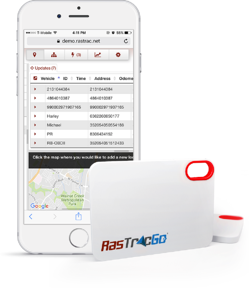 RastracGo portable tracking device