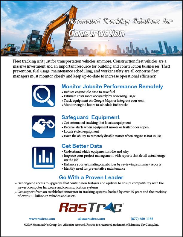 Construction Feature Sheet