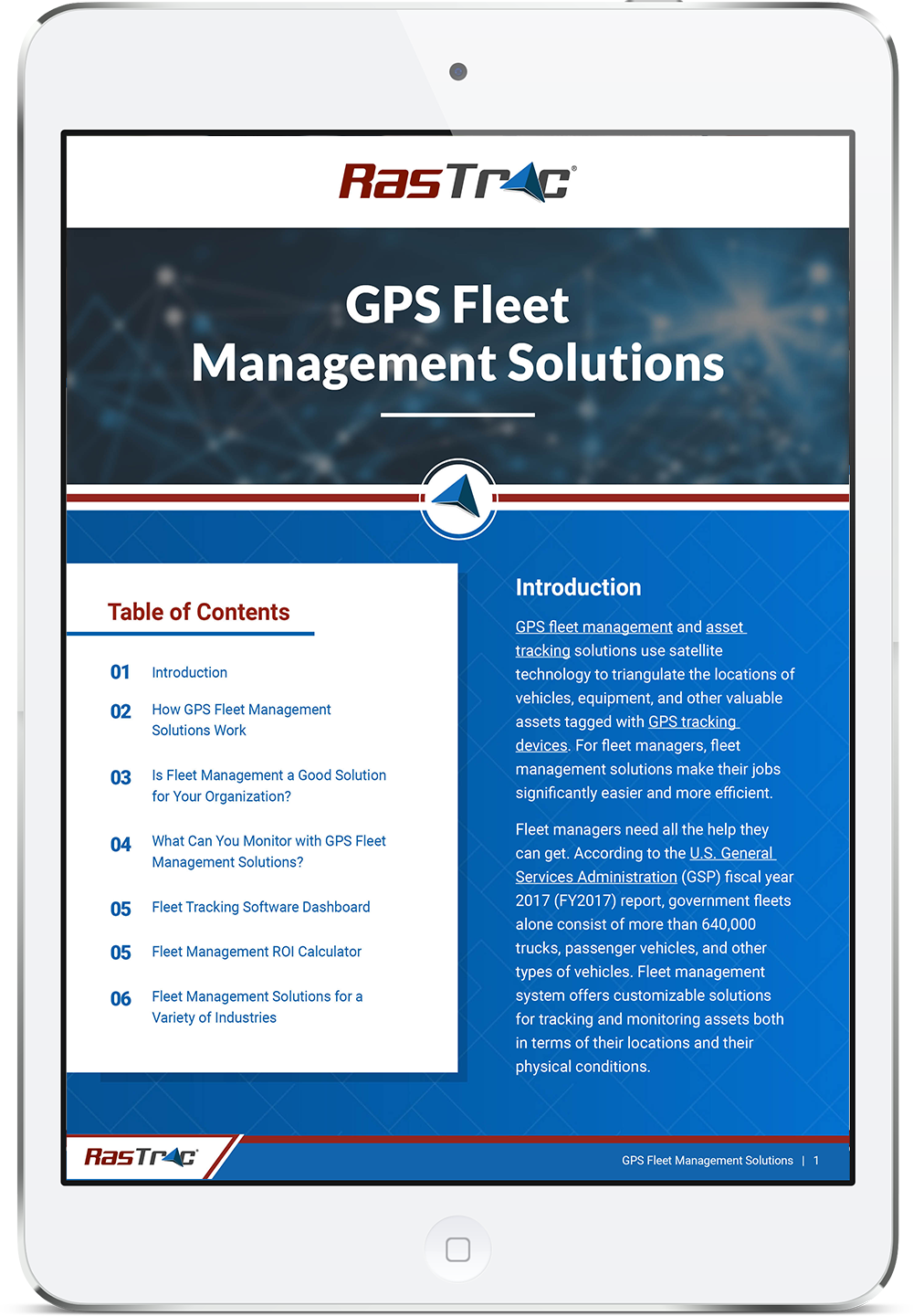 GPS Fleet Management Solutions Guide Cover